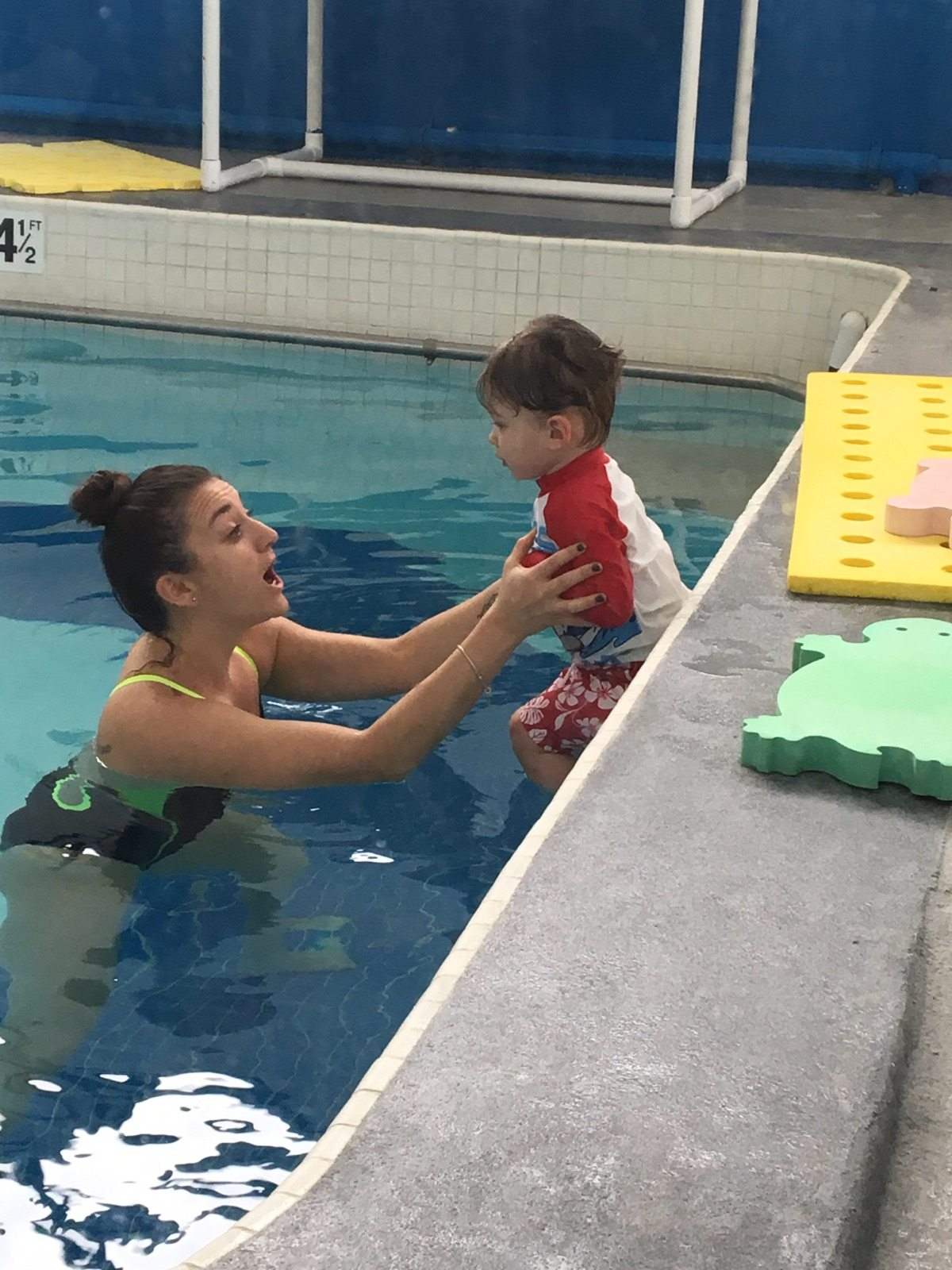 Helpful Tips From Miss Amy! Transitions From Water Babies to Pre Pre