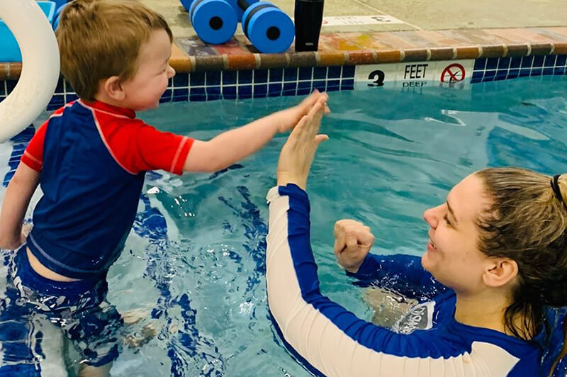 Learning Water Safety Skills