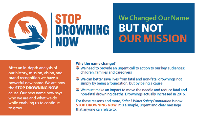 Drowning Prevention Information by Stop Drowning Now Foundation